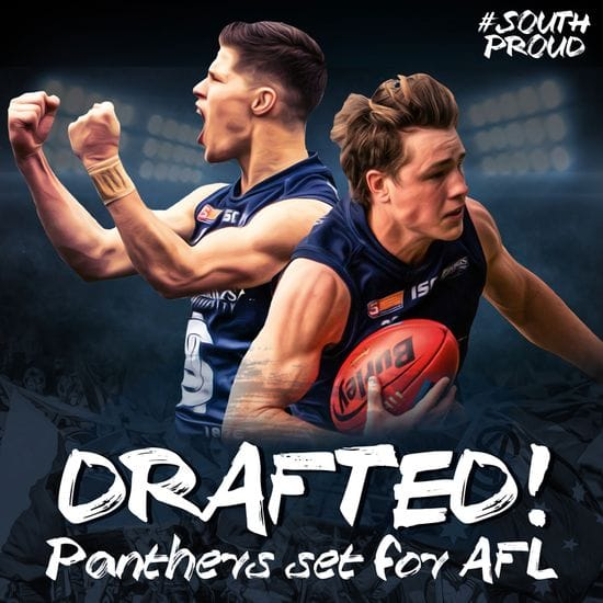Pair of Panthers taken in AFL Draft!
