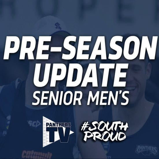 Panthers TV: Senior Men's 2019 Pre-Season Update