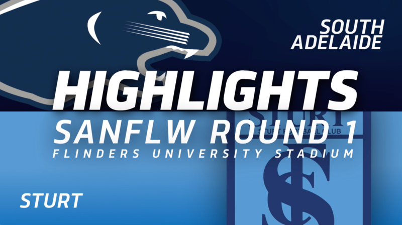 PanthersTV: South Adelaide vs Sturt Highlights | Round 1, 2019 | SANFLW