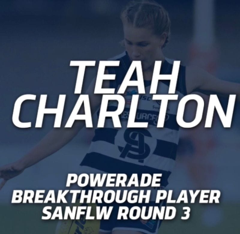PanthersTV: Teah Charlton Powerade Breakthrough Player | Round 3 2019