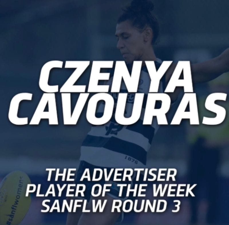 PanthersTV: Czenya Cavouras The Advertiser Player of the Week | Round 3 2019