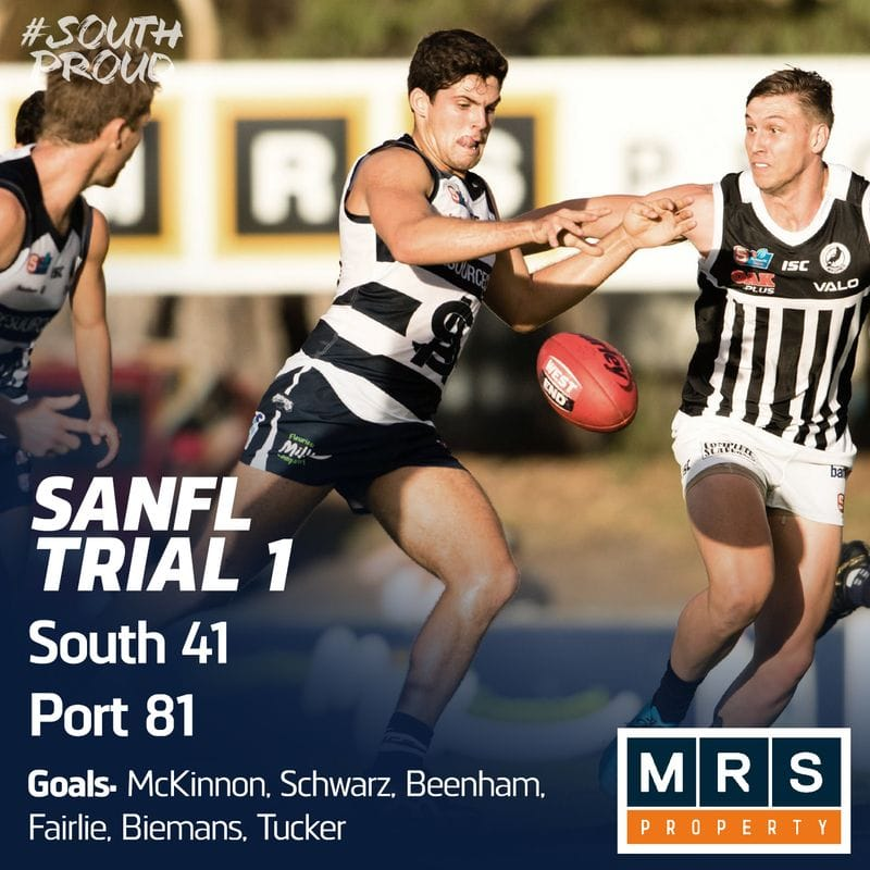 SANFL Match Report: Panthers fall to Magpies in trial games opener
