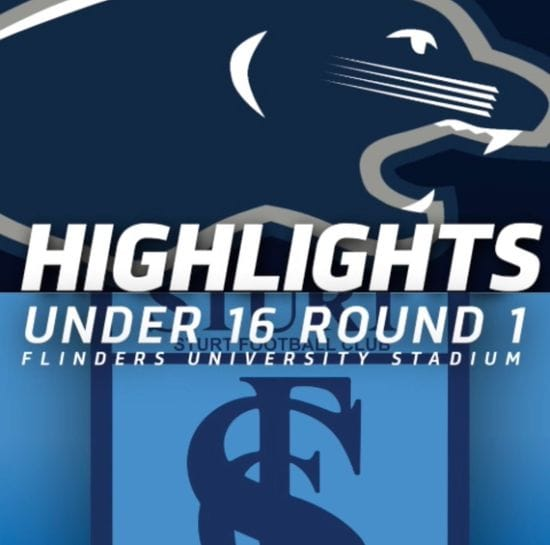 PanthersTV: South Adelaide vs Sturt Highlights | Round 1, 2019 | Under 16s