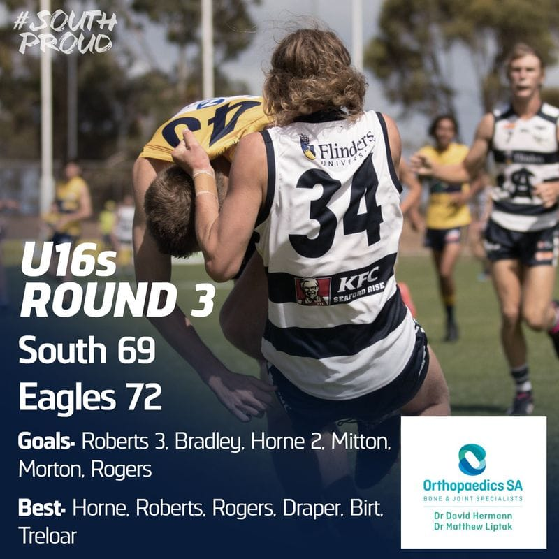 Junior Match Report: Goal after the siren sinks U16s