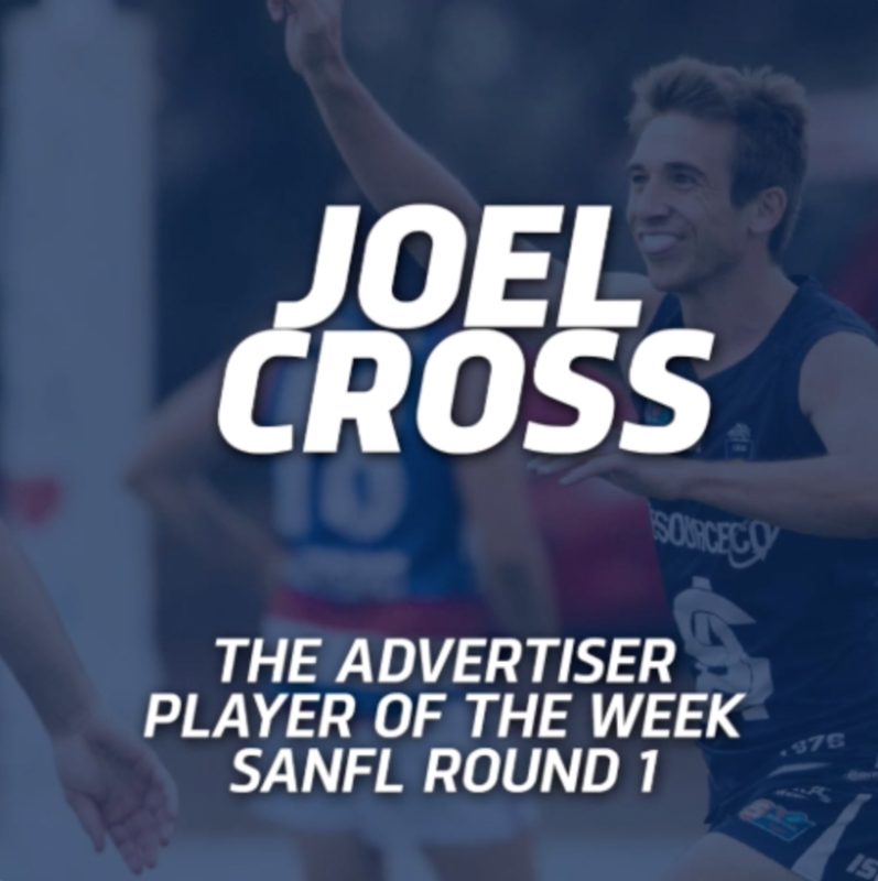 Panthers TV: Joel Cross The Advertiser Player of the Week | Round 1 2019