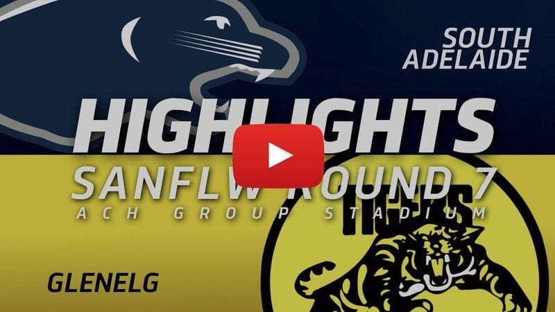 PanthersTV: SANFLW Round 7 | South Adelaide vs Glenelg Highlights