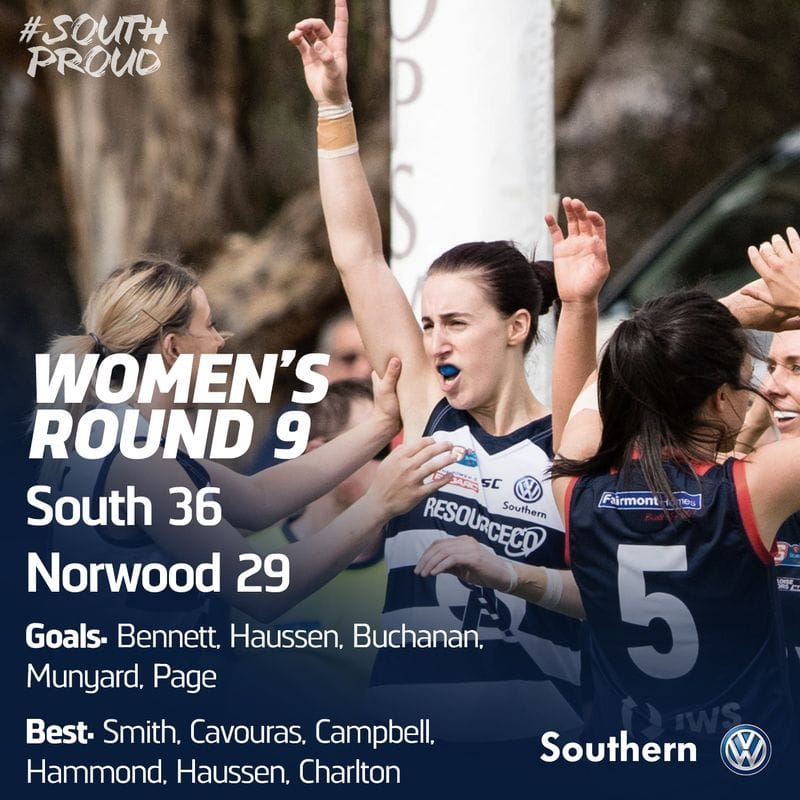 Women's Match Report: Panthers women take down ladder leaders