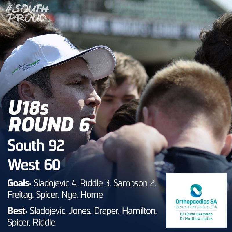 Junior Match Report: U18s enjoy win over West Adelaide