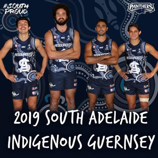 2019 South Adelaide Indigenous Guernsey Design Revealed