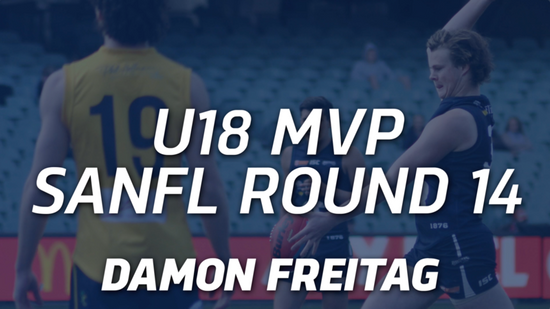 Panthers TV: U18 MVP Round 14 - Damon Freitag