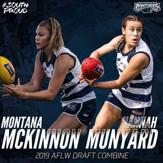 McKinnon and Munyard invited to AFLW Combine