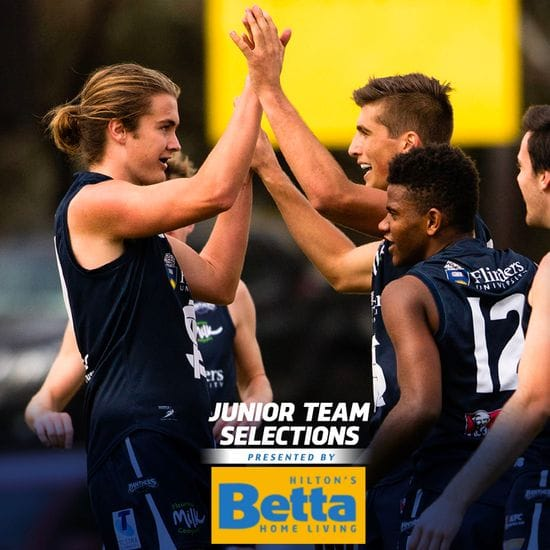 Betta Teams: Juniors - U18 Round 18