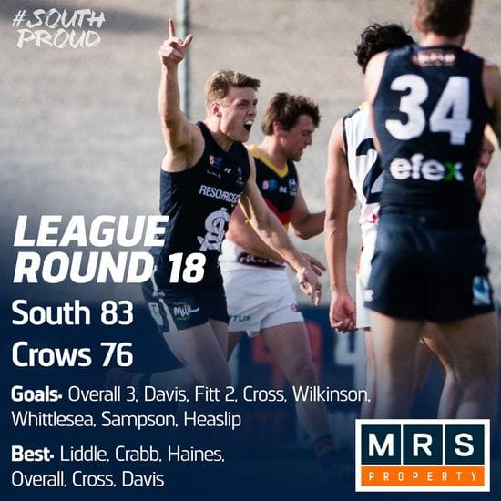 Betta Teams: Seniors Round 10 - South Adelaide vs Sturt