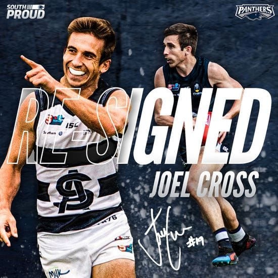 Joel Cross inks a new deal