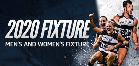 2020 South Adelaide Fixtures