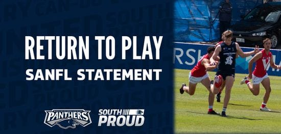 Return to Play: SANFL Statement