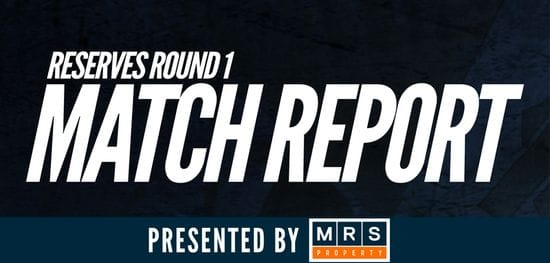 MRS Property Reserves Round 1 Match Report: Panthers fall to the Eagles