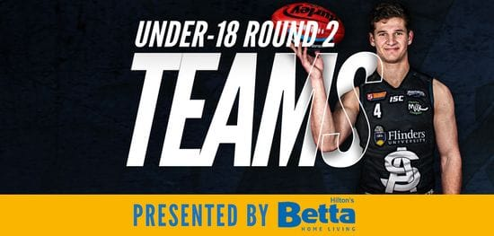 Betta Teams: Under-18 Round 2 - South Adelaide vs Glenelg