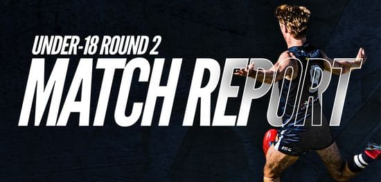 Under-18 Match Report Round 2: South vs Glenelg