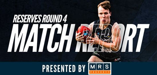 MRS Property Reserves Match Report Round 4: South vs Sturt