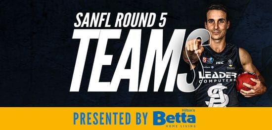 Betta Teams: SANFL Round 5 - South Adelaide vs West Adelaide