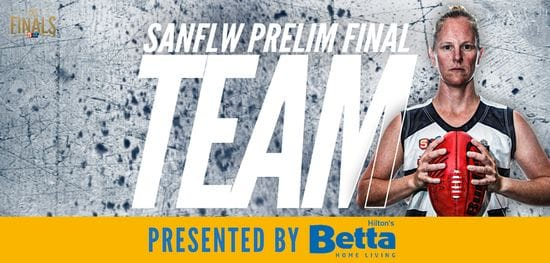 Betta Team: SANFLW Preliminary Final - South Adelaide vs West Adelaide