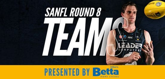Betta Teams: SANFL Round 8 - South Adelaide vs Woodville West-Torrens