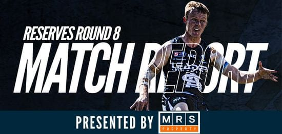 MRS Property Reserves Match Report Round 8: South vs Eagles