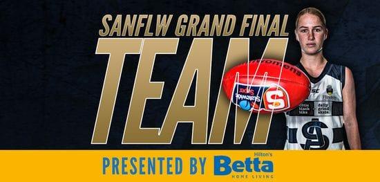 Betta Team: SANFLW Grand Final - South Adelaide vs North Adelaide