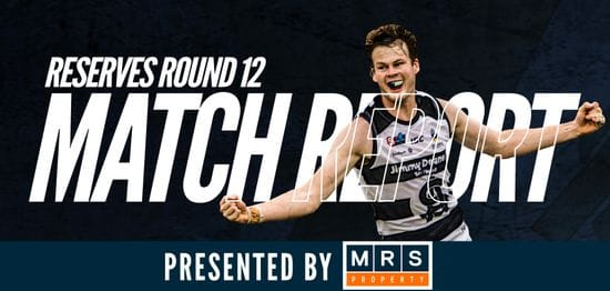 MRS Property Reserves Match Report Round 12: South @ West