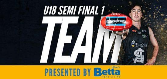 Betta Teams: Under-18 Semi Final 1 - South Adelaide vs Eagles