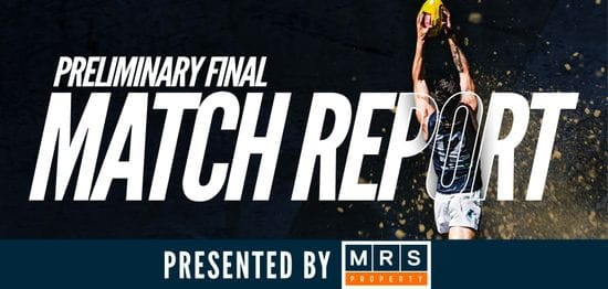 MRS Property Match Report Preliminary Final: South vs Eagles