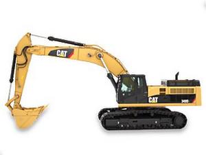 Cat track excavator