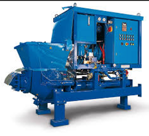 Meyco Suprema shotcrete pump