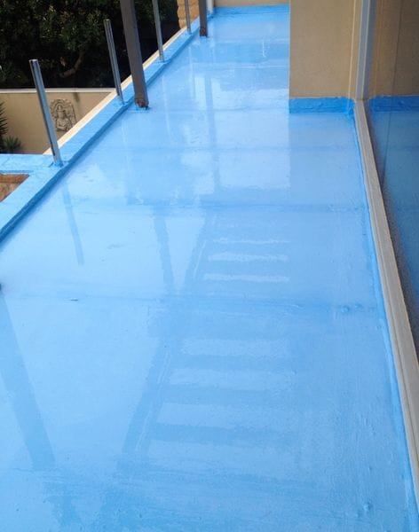 Apply waterproof membrane | SCR Melbourne