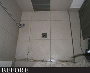 SCR Melbourne shower before photo