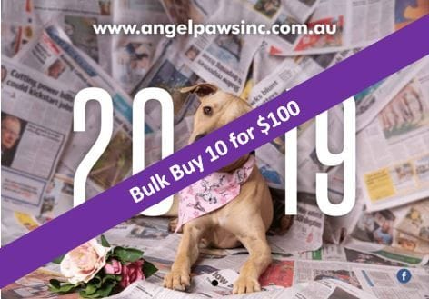 2019 Angel-Paws Inc. Calendars $100 for 10