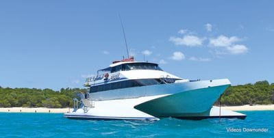 MV2001 - modern wave piercer catamaran