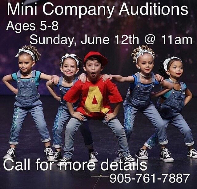 Mini Auditions Sunday June 12, 2016