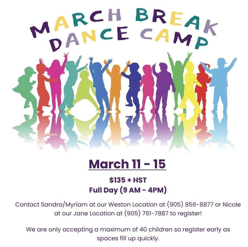 March Break Dance Camp