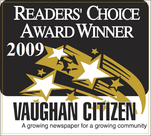 The Dance Zone readers choice award 2009 for best dance studio Vaughan.