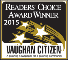 The Dance Zone readers choice award 2015 for best dance studio Vaughan 7 years in a row!