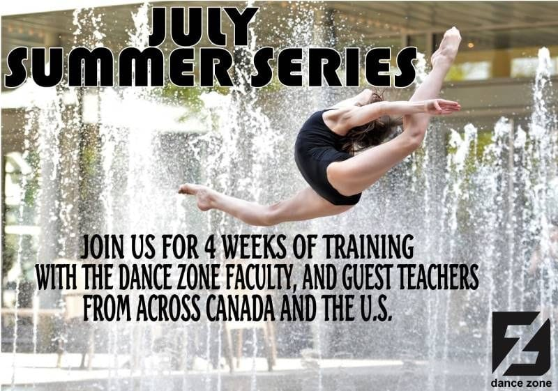 July Summer Series | The Dance Zone