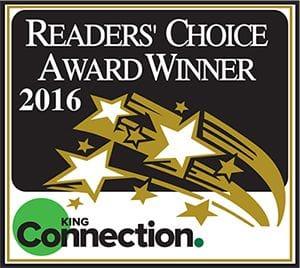 Reader's Choice Award Winner 2016