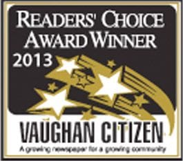 The Dance Zone readers choice award 2013 for best dance studio Vaughan