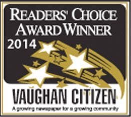 The Dance Zone readers choice award 2014 for best dance studio Vaughan