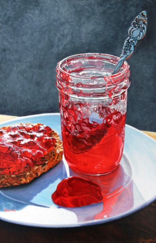 Sour Cherries Jelly