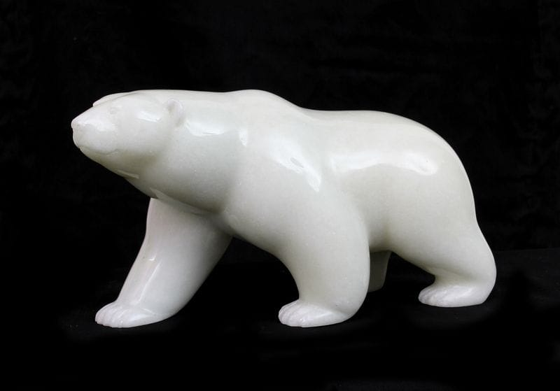 White Jade Bear