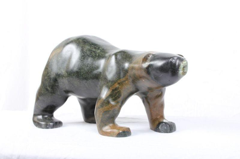 Med Green-Brown Bear (MT1165)