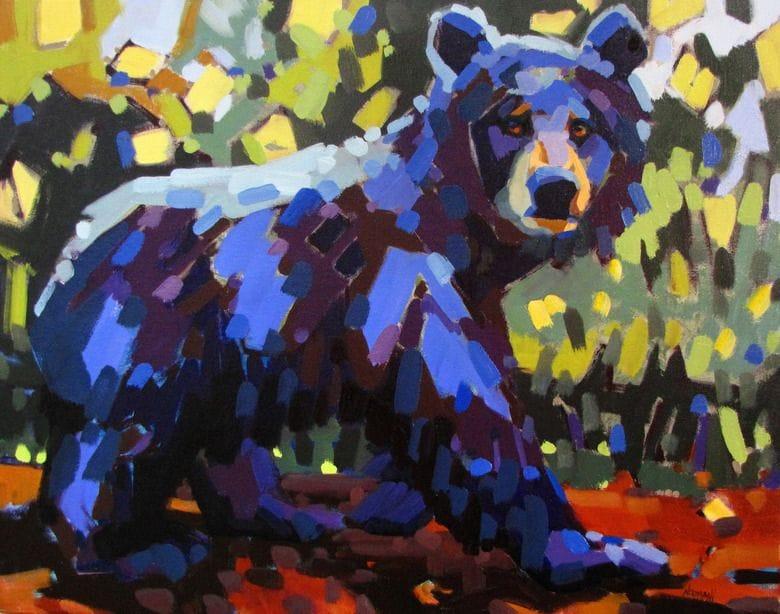 Non Typical Black Bear